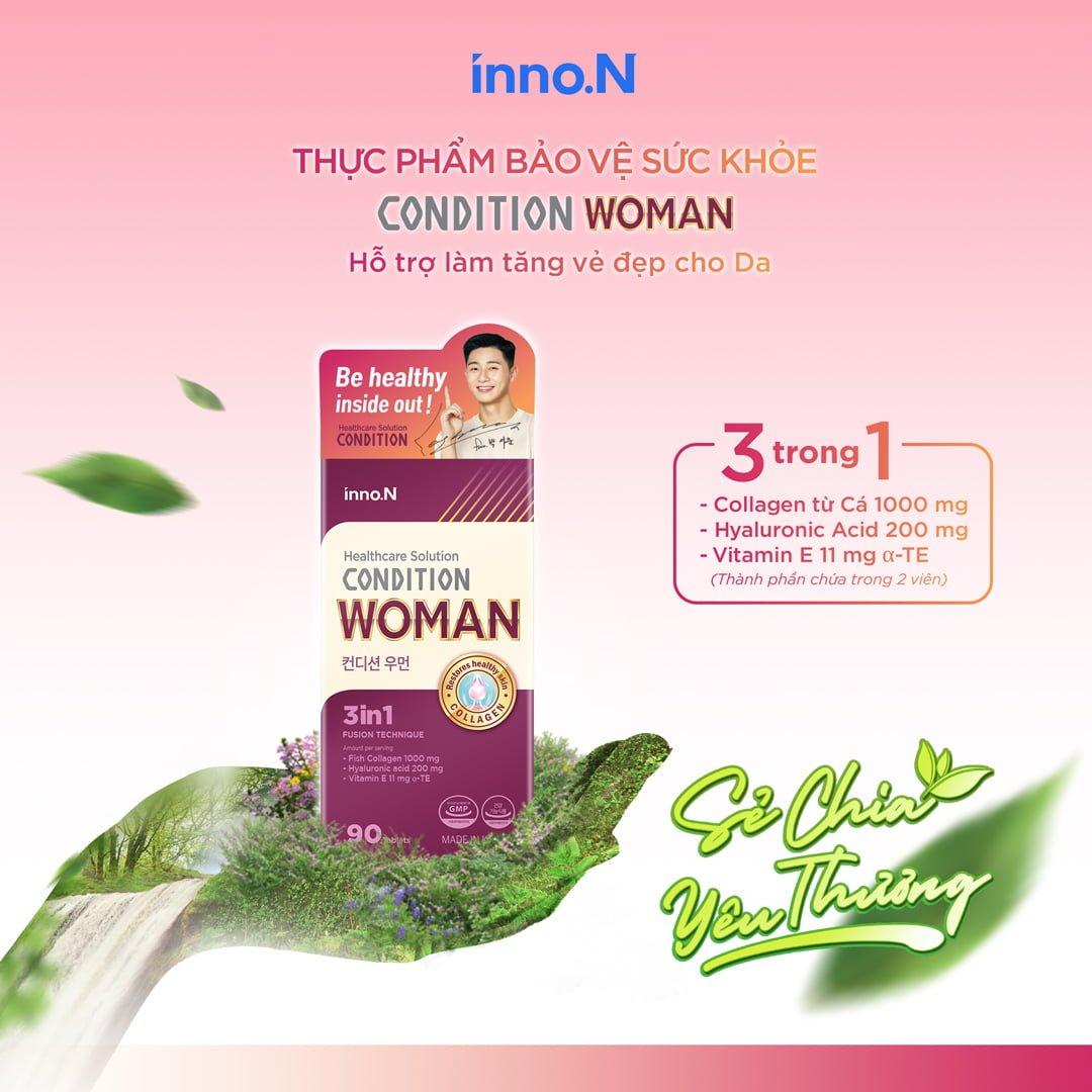 Thực phẩm bảo vệ sức khỏe CONDITION WOMAN